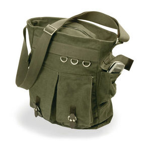 WHITE LABEL - sac besace multi-poches toile de coton - Handbag