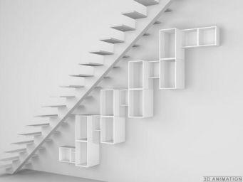 CUBIT� - regal unter treppen und dachschr�gen - Under Stair Unit