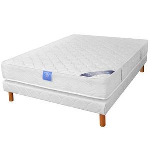 BELLE LITERIE - ensemble matelas oceo belle literie visco + sommie - Mattress Set