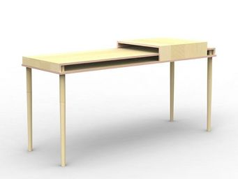 MALHERBE EDITION - bureau double plateau coulisse - Desk