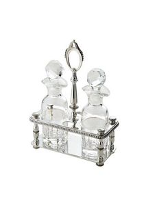 Ercuis - perles - Oil And Vinegar Cruet