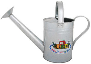 KIDS IN THE GARDEN - arrosoir pour enfant en zinc 34x12.5x23cm - Watering Can