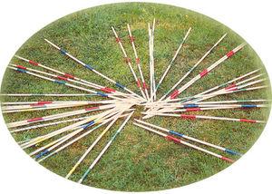 Traditional Garden Games - jeu de mikado de jardin géant 90cm - Jackstraw