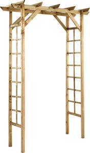 JARDIPOLYS - pergola droite passiflore en pin - Garden Arch