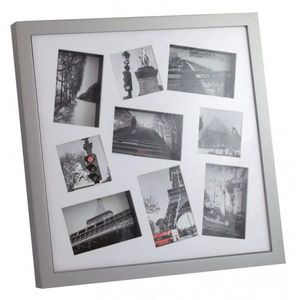 INVOTIS - cadre photos 3d blanc - Photo Frame