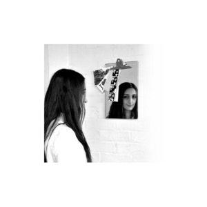 Suck Uk - miroir mémo (format a4) - Table Mirror