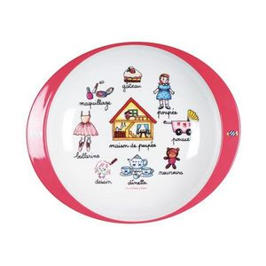 La Chaise Longue - assiette mélamine fille - Infant Bowl