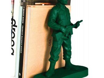 Suck Uk - serre livres soldat - Book End