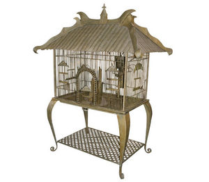 Demeure et Jardin - cage jules verne - Birdcage