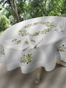 NIVES / BALDINI E CECCHI -  - Round Tablecloth