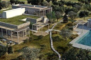 AW² - ville en corse - Architectural Plan