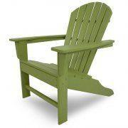 Casa Bruno - south beach adirondack verde lima - Garden Armchair