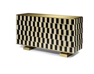 Negropontes - op art - Chest Of Drawers