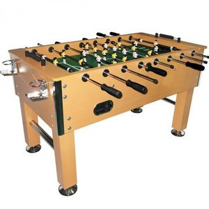 WHITE LABEL - baby foot luxe football - Football Table