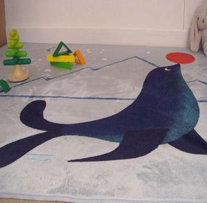 ART FOR KIDS - otarie - Children's' Rug
