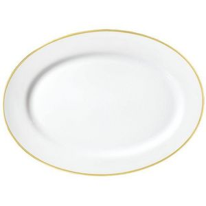 Raynaud - fontainebleau or - Oval Dish