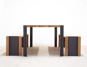 MALHERBE EDITION - banc trek - Rectangular Dining Table