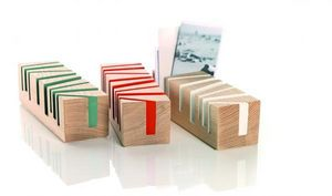 E M HOLZPRODUKTE -  - Business Card Holder