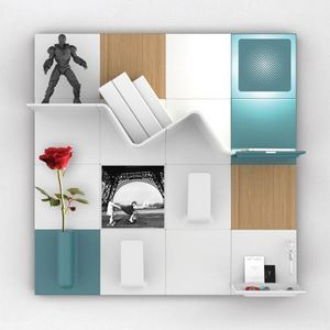 ENKO CREATIO -  - Multi Level Wall Shelf