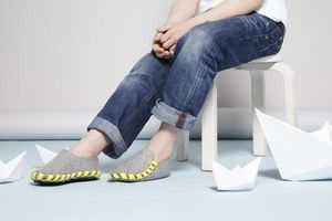 LASSO SHOES -  - Children's Slippers