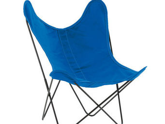 Airborne - coton bleu azur - Armchair
