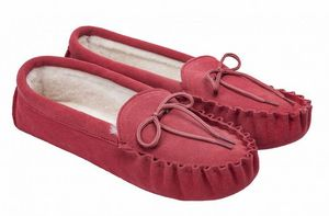 BABBI - manitou crosta cherry-homme - Slippers