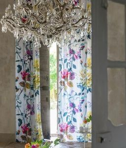 Designers Guild - couture rose - fuchsia - Net Curtain By The Metre