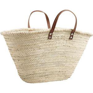 Aubry-Gaspard - cabas naturel - Shopping Bag