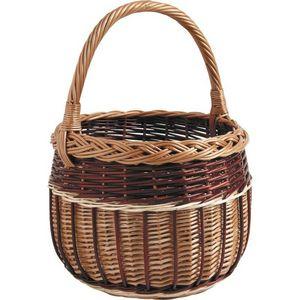 Aubry-Gaspard - panier de marché rond - Basket