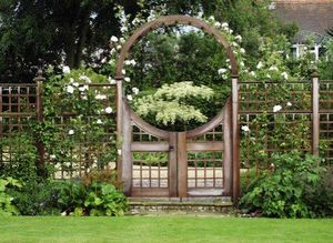 Stuart Garden Architecture -  - Entrance Gate