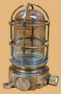Normandy Antiquites De Marine -  - Passage Lamp