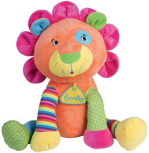 WDK Groupe Partner - peluche lion multicolore - Soft Toy