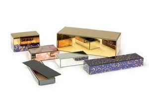 ANTIQUE MIRROR -  - Decorated Box