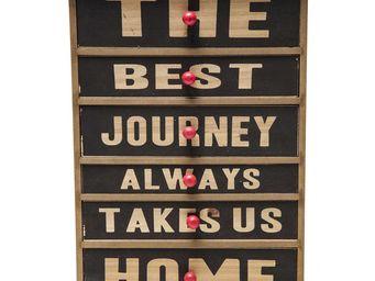 Kare Design - boîte drawer the best journey - Decorated Box