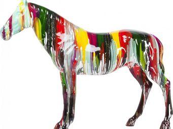 Kare Design - deco cheval colore - Figurine