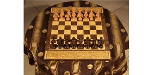 MARCHAND DE SABLES - tibet - Chess Game