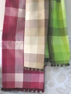 ITI  - Indian Textile Innovation - checks - Coverlet / Throw