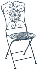 AUBRY GASPARD - chaise de jardin pliante en métal - Garden Armchair