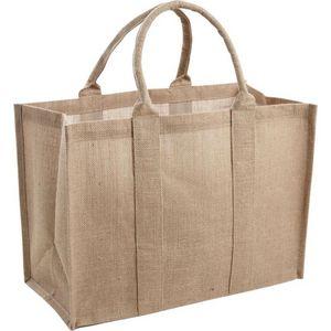 Aubry-Gaspard - sac en jute - Shopping Bag