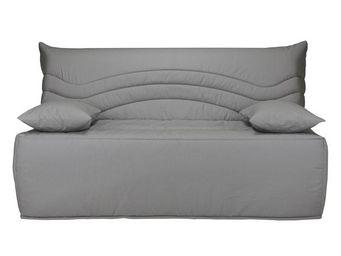WHITE LABEL - banquette-lit bz matelas hr 160 cm - speed rico - - Reclining Sofa