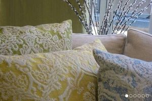 SHEILA COOMBES - renaissance - Square Cushion