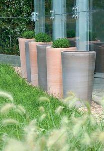 POTERIE GOICOECHEA - vase haut-- - Flower Container