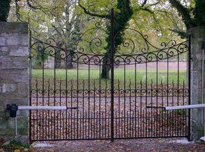 La Forge  de La Maison Dieu - electrique - Entrance Gate
