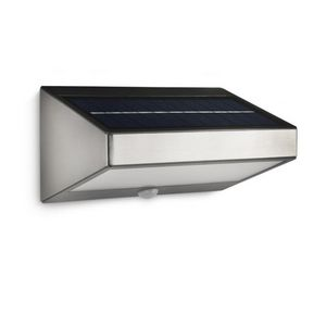 Philips - eclairage solaire détecteur greenhouse led ip44 h9 - Outdoor Wall Lamp