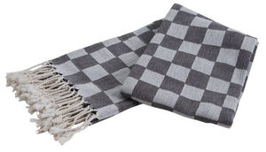 Aubry-Gaspard - plaid en coton damier - Tartan Rug