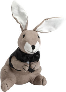 Amadeus - cale porte lapin en costume - Door Wedge