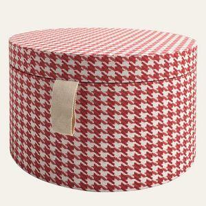 Tassotti - pied de poule rosso - Hat Box