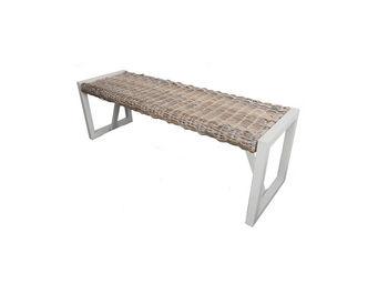 City Green - banc de jardin démontable 3 places malacca - 138 x - Garden Bench