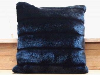 nuance pivoine - charbon - Square Cushion