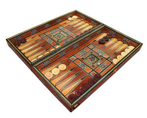 HELENA WOOD ART -  - Backgammon